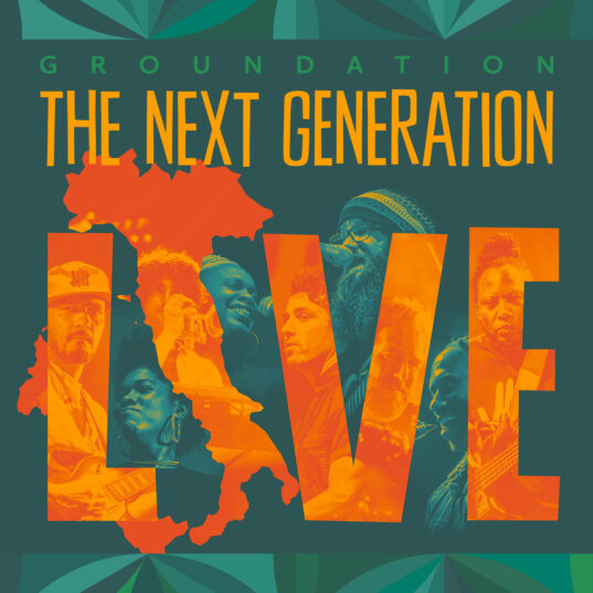 Cover The Next Generation Live front